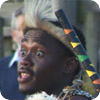 Zulu dancing at Chester Zoo